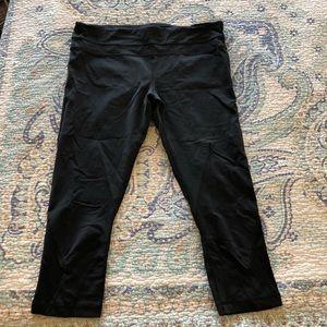 NWOT Black Lululemon Workout Pants